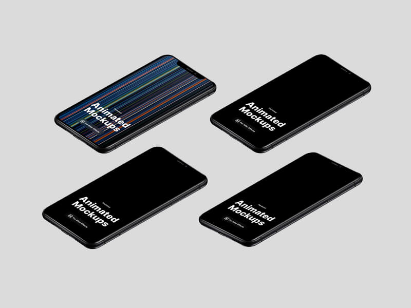 iPhone 11 Animated Mockups
