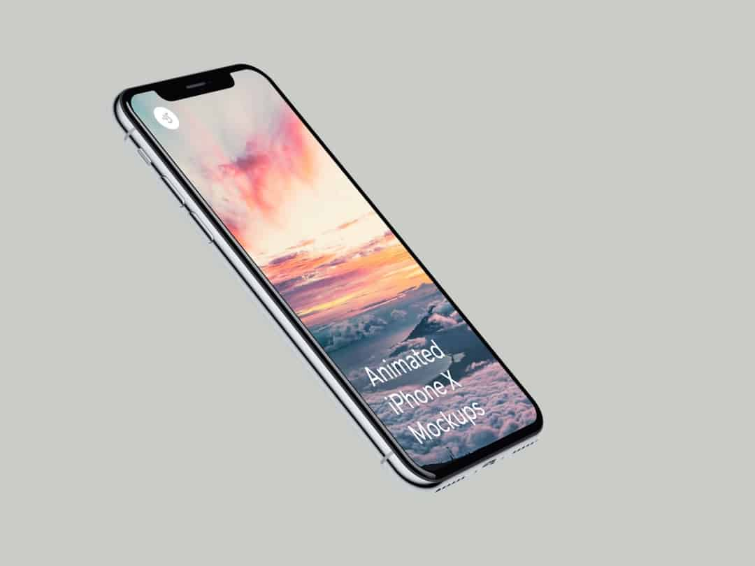 Looped iPhone X Live Mockups