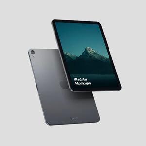 Newest Free iPad Air Mockups
