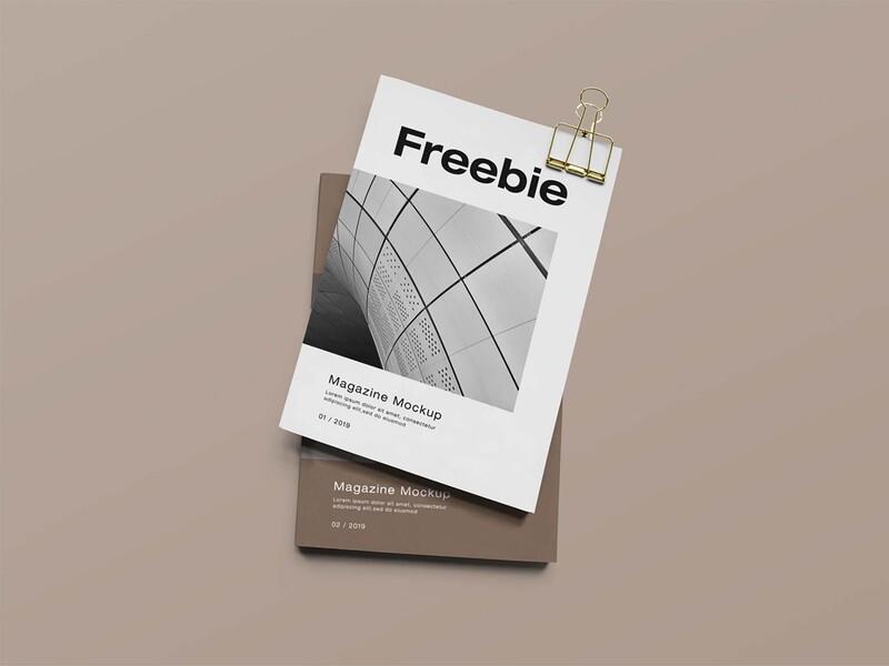 Free Smart Magazine Mockup