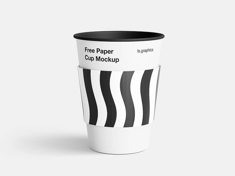 Highest quality and easy to use coffee cup mockup for Photoshop. Highest quality, mega resolution, very detail is customizable. Use it in your branding presentation purposes.