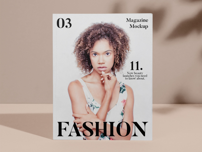 Atmospherical Magazine Cover PSD Mockup