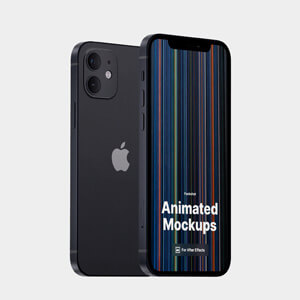 New iPhone 12 animated mockups