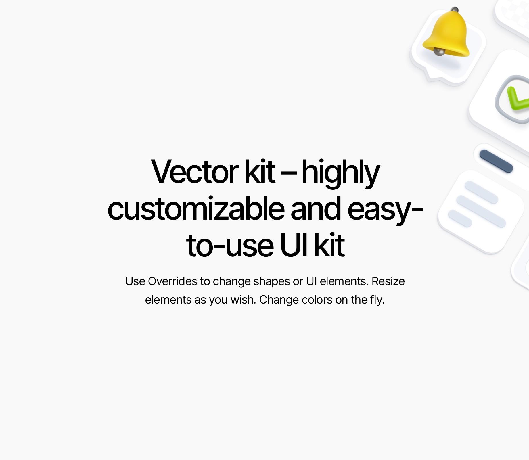 3d Illustration Kit