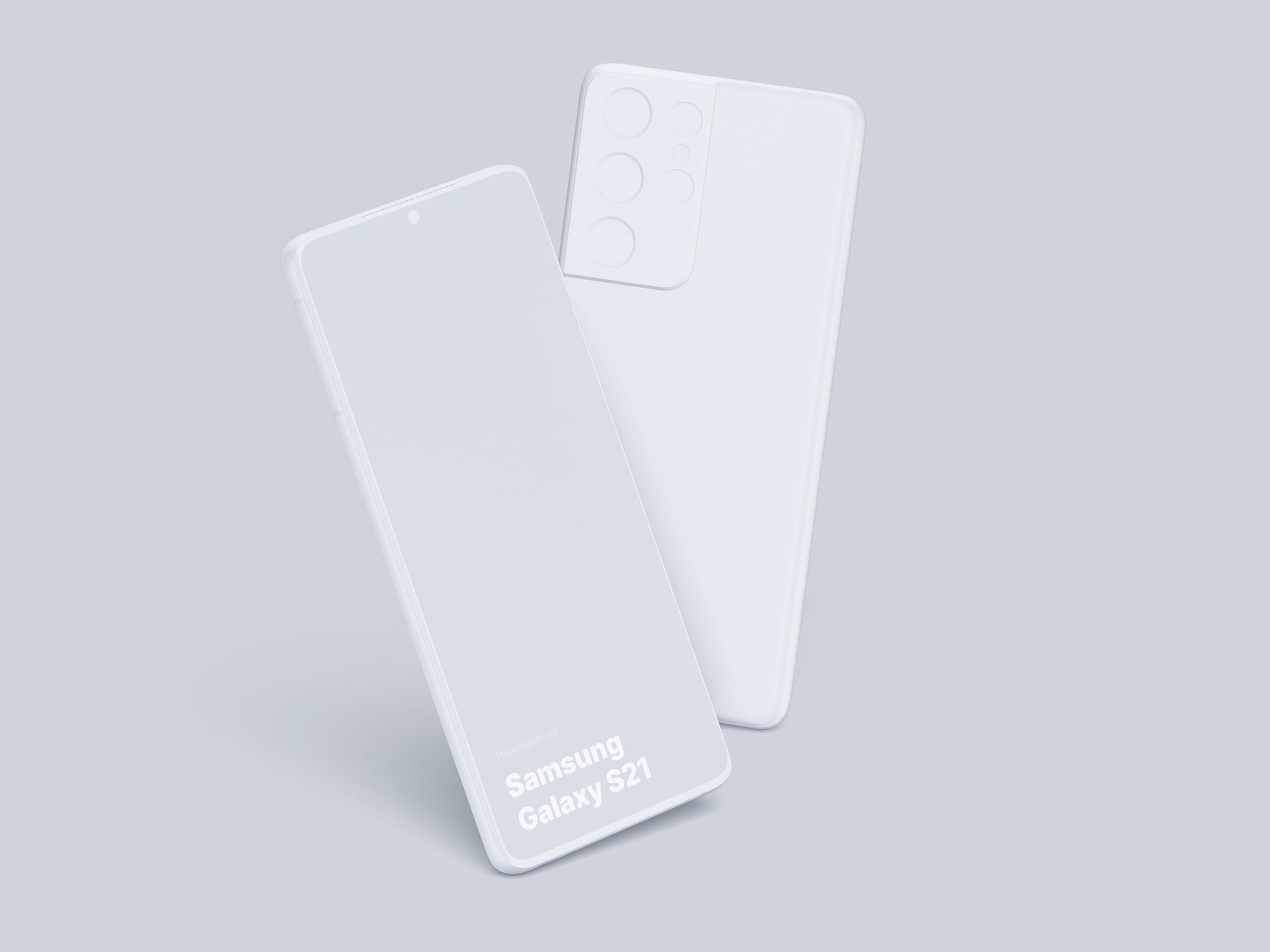 Samsung Galaxy S21 Ultra Mockups
