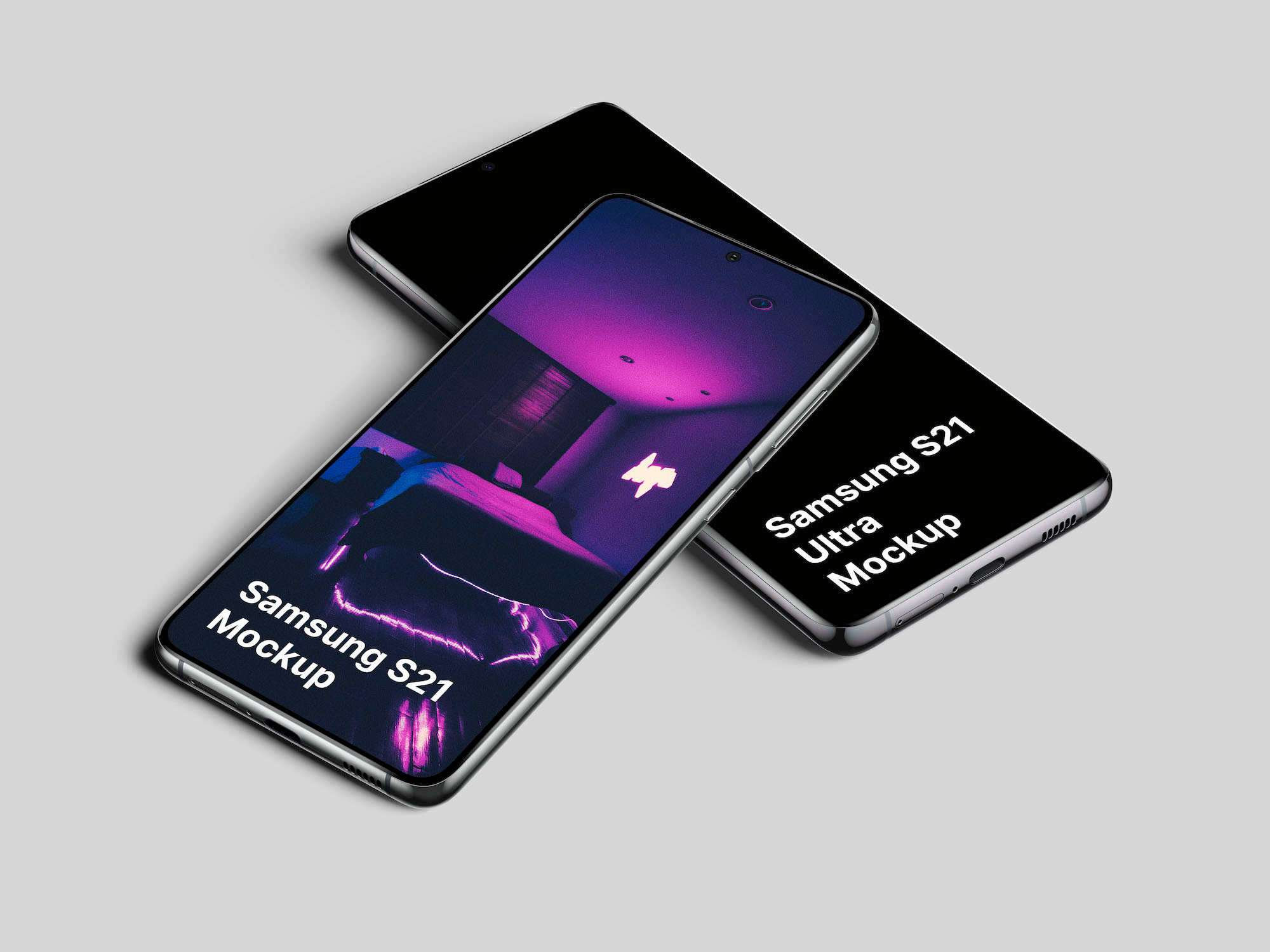 Samsung Galaxy S21 Mockups