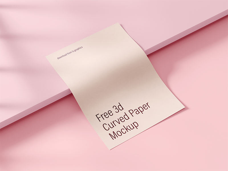 Flawless A4 paper mockup with the elegant shadows overlay effect. Use it to showcase your branding designs in a stylish and photorealstic look.