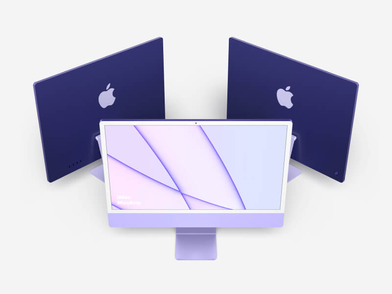 iMac 24-inch Mockups