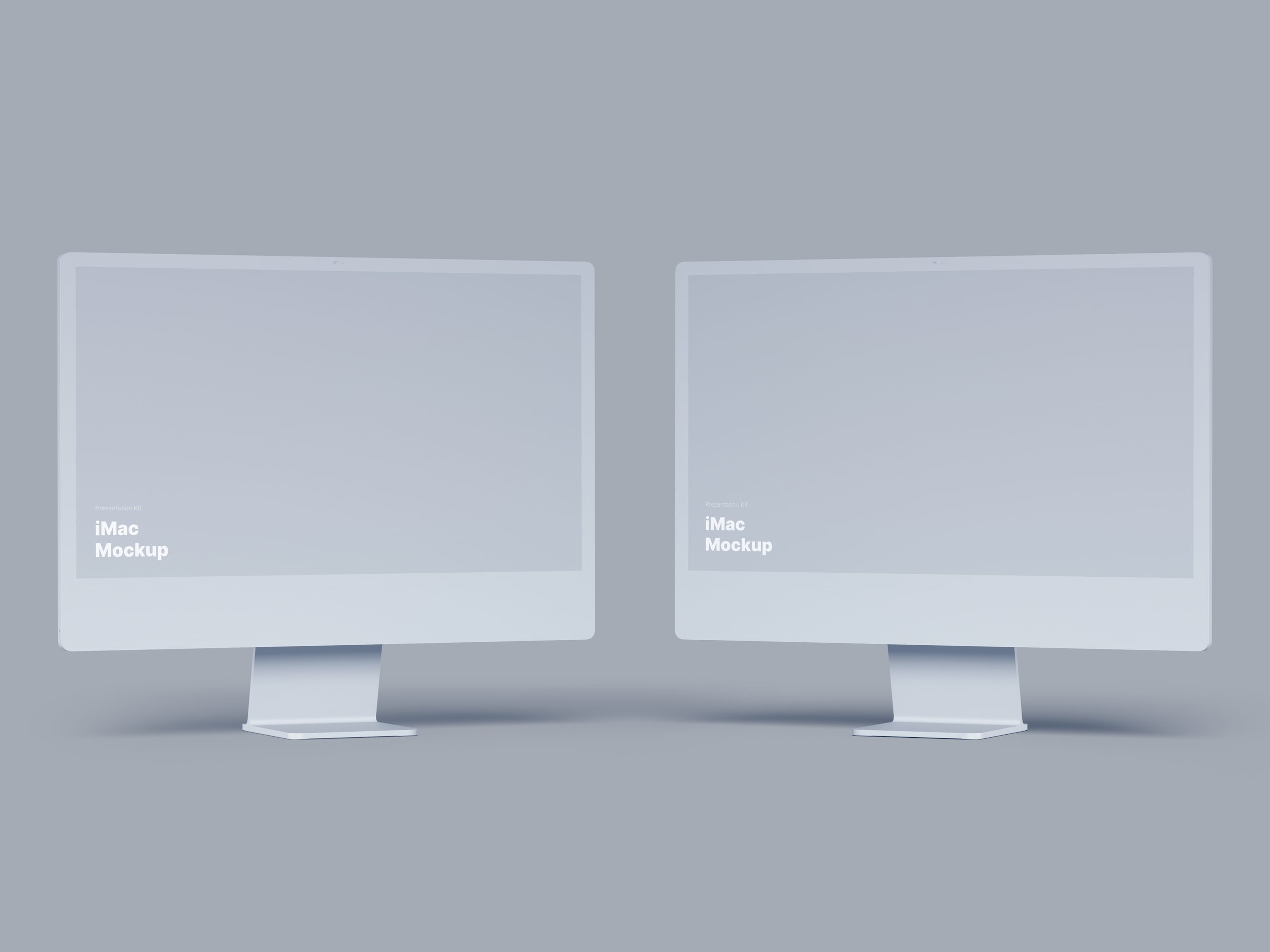 Clay iMac Mockup