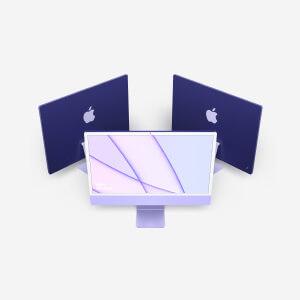 Beautiful iMac Mockups