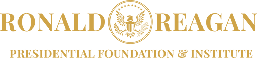 Logo of the Ronal Reagan Presidential Fondation & Institute