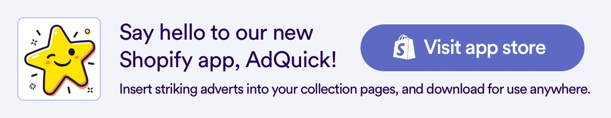 AdQuick Shopify App - link to app store