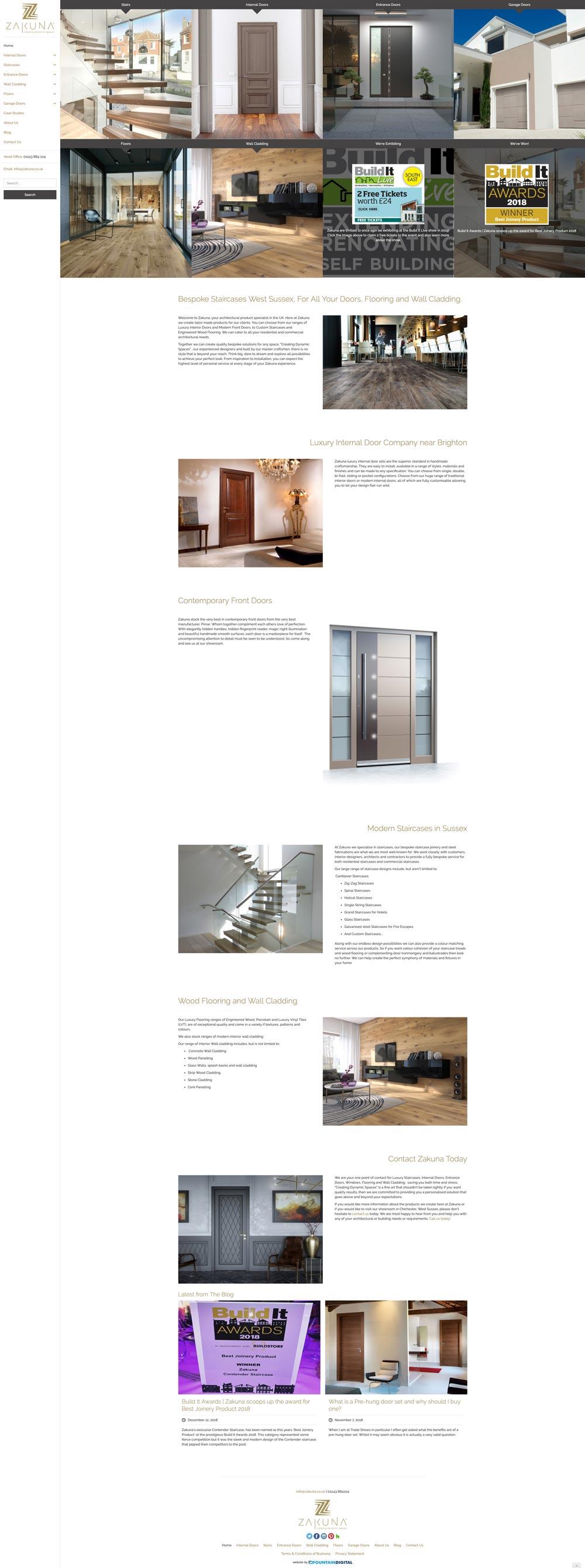 desktop image of website design