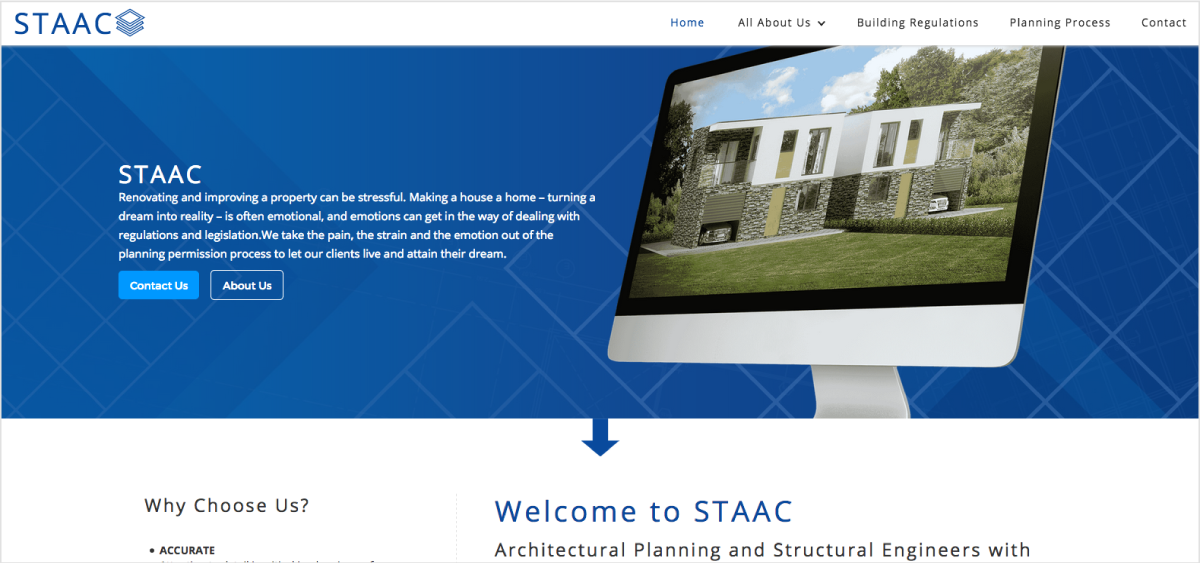 Stacc website preview image