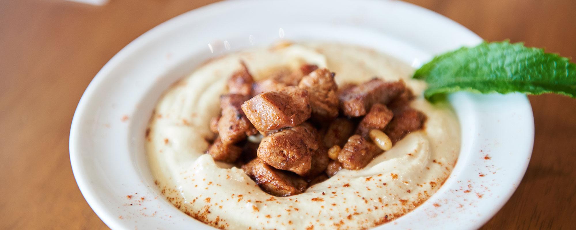 Liman restaurant image of Mediterranean food on plate
