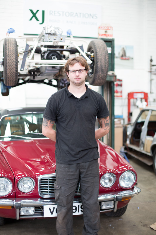 Image of Keith Parrington at XJ Restorations