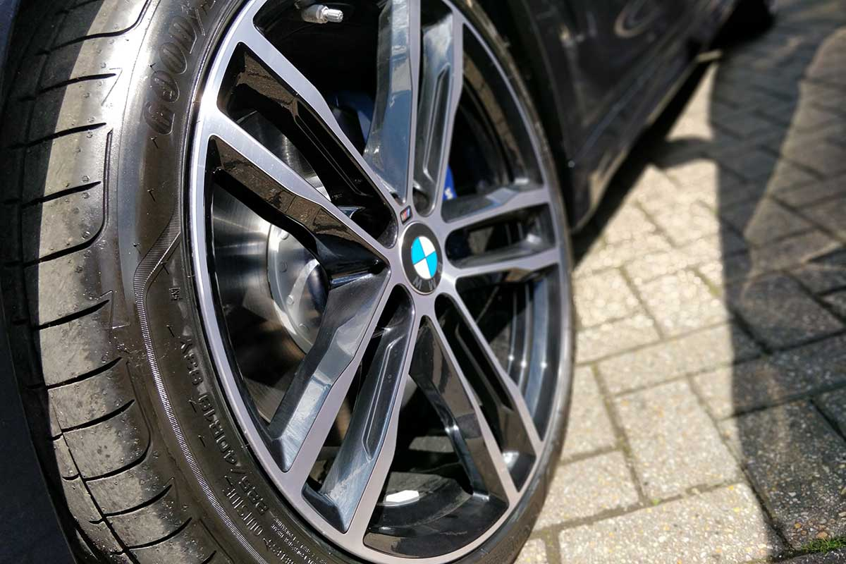 BMW gran coupe 420i 19inch alloy wheels