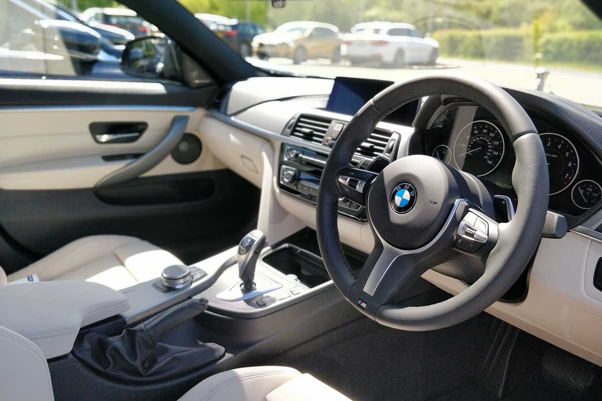 BMW gran coupe 420i interior
