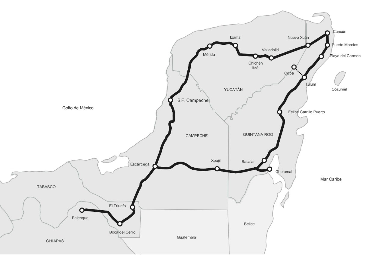 La Ruta del Tren Maya | Tao Mexico