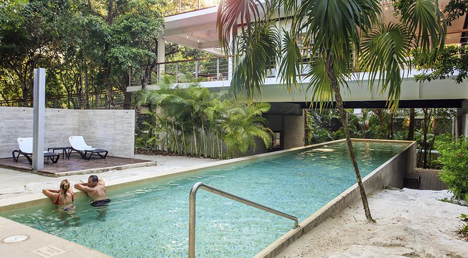 tao wellness center pool