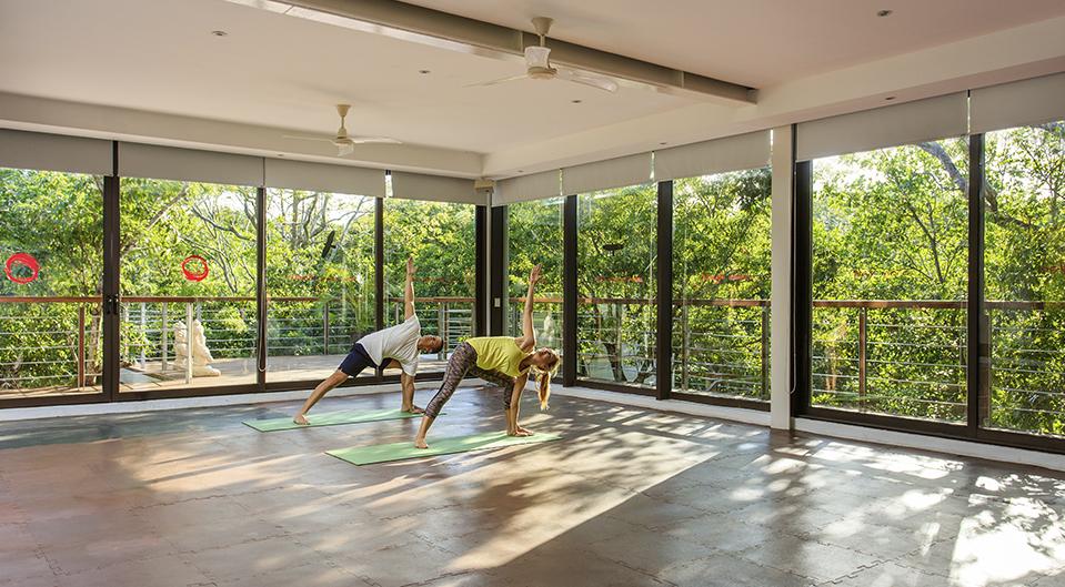 tao wellness center yoga room