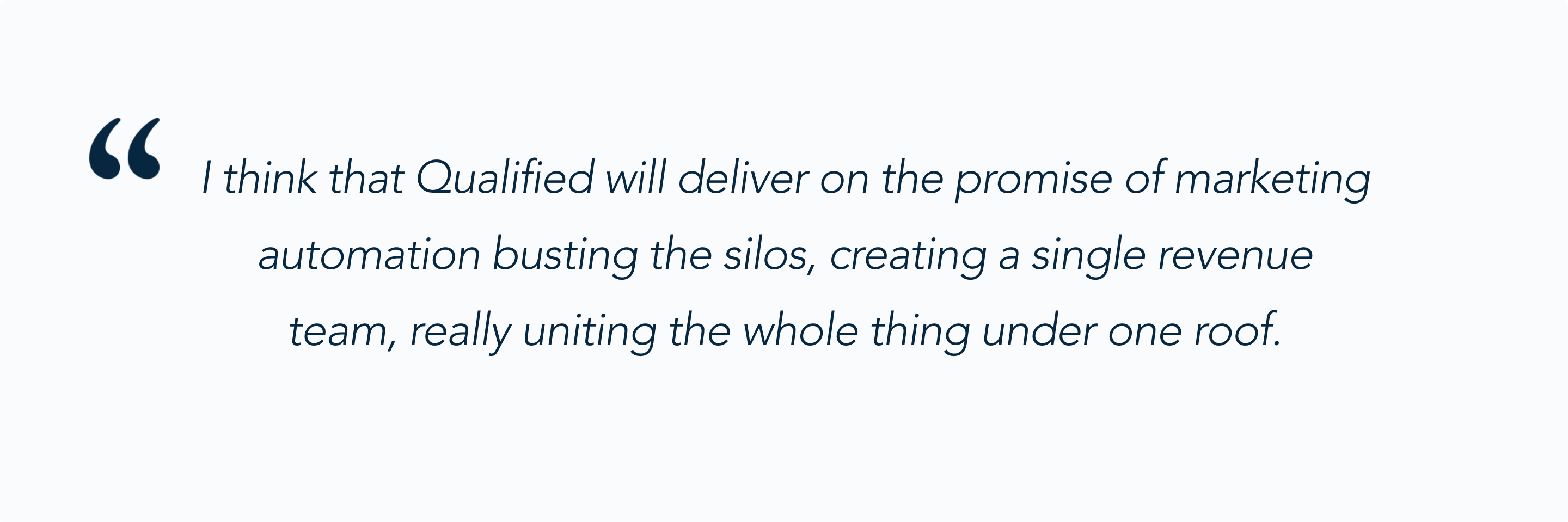 Casey Cheshire talks about the promise of Qualified's Conversational Marketing Platform