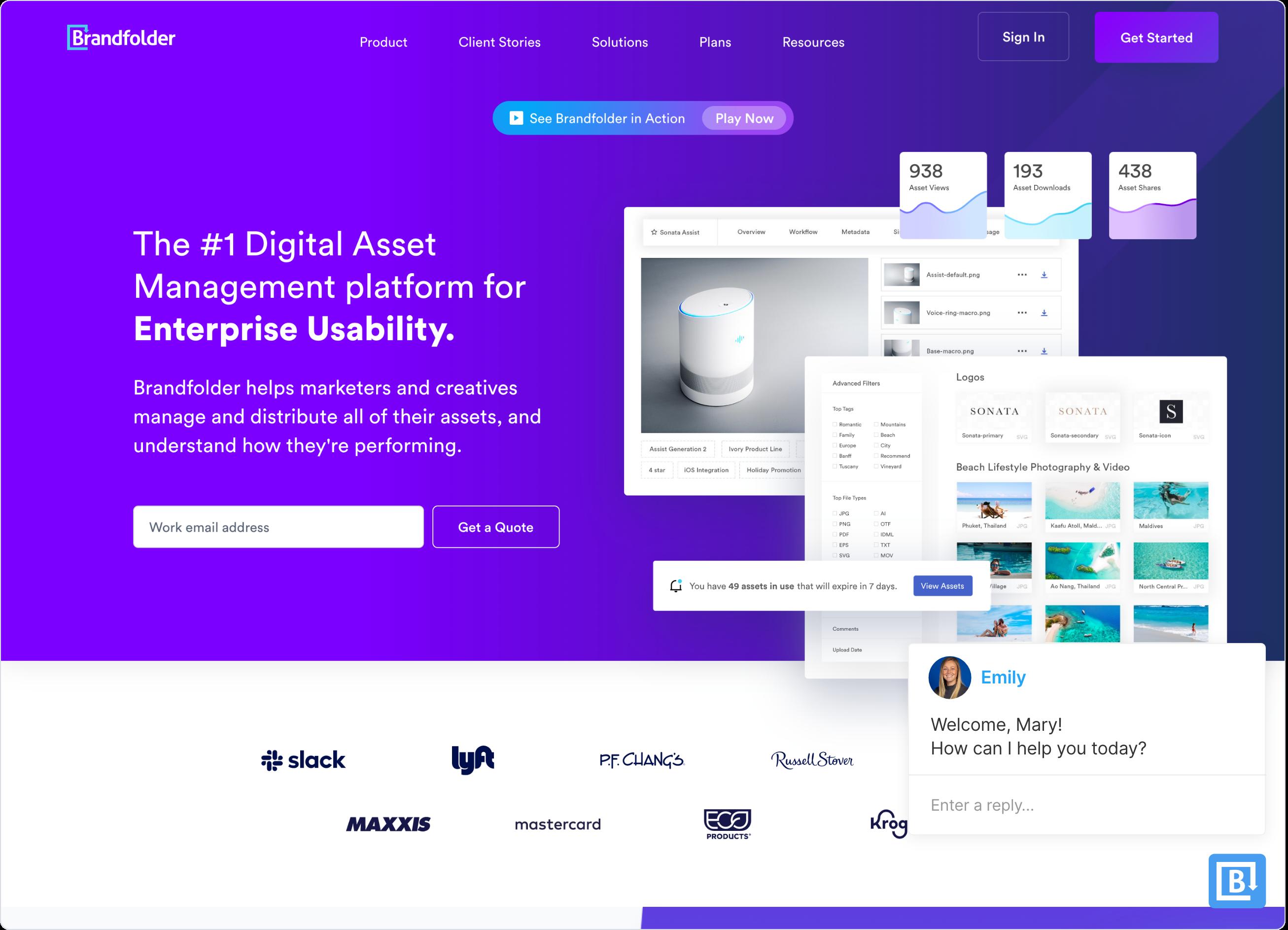 Brandfolder uses Qualified's Conversational Marketing Platform