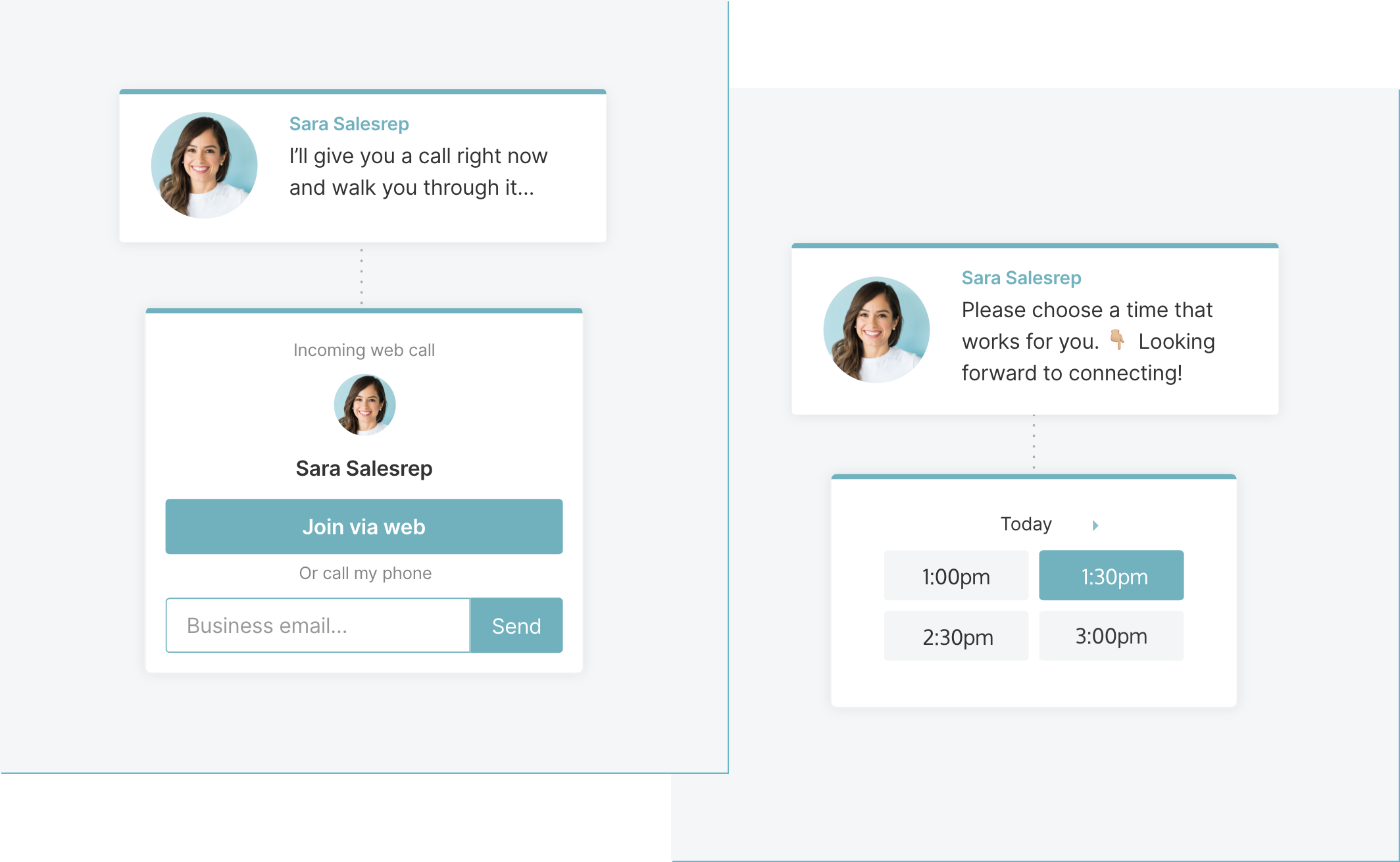 Use Qualified's Phone Call and Meeting Bookers to do Same-Day Discovery Calls
