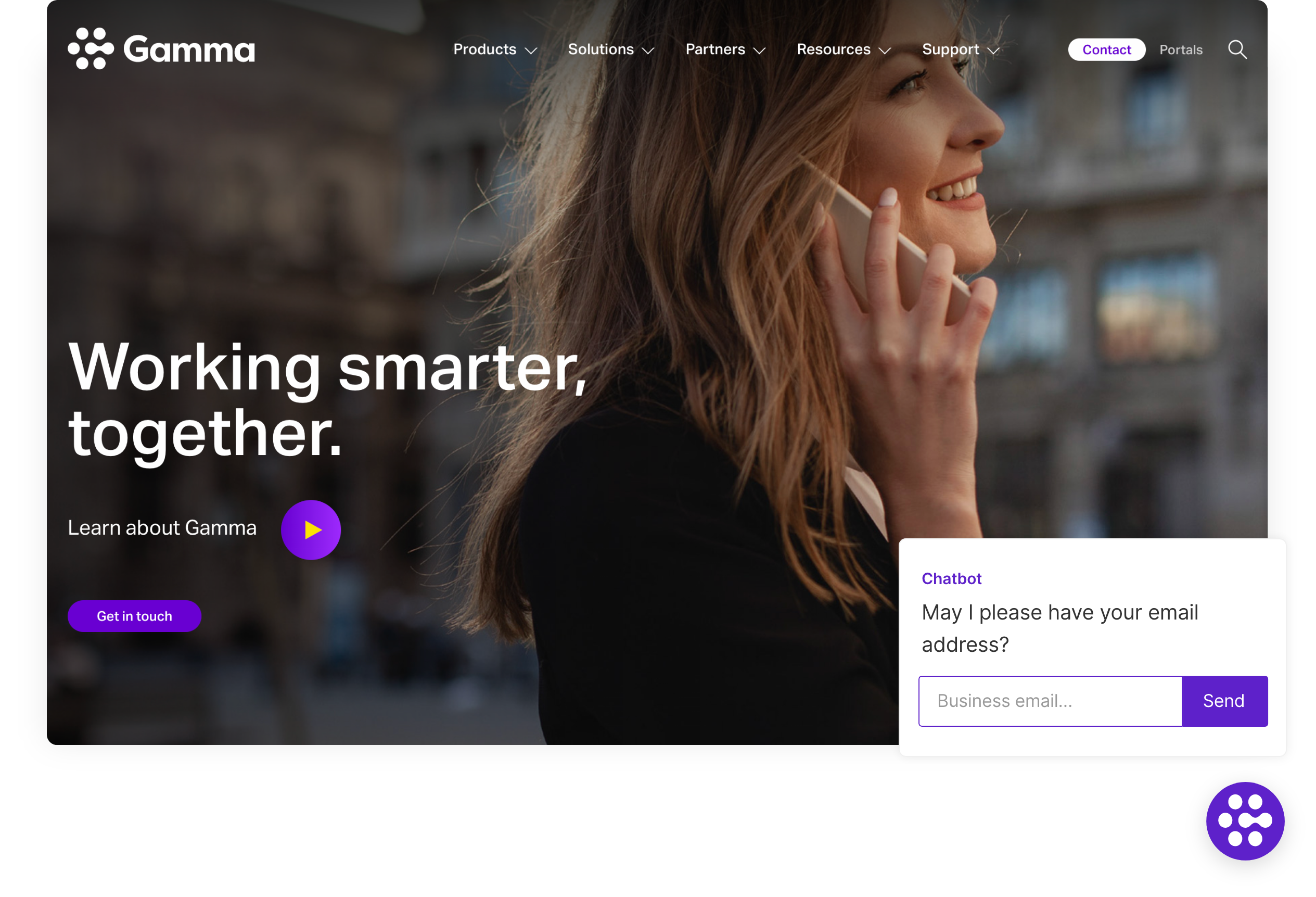 Gamma uses Qualified's chatbots to capture leads around the clock