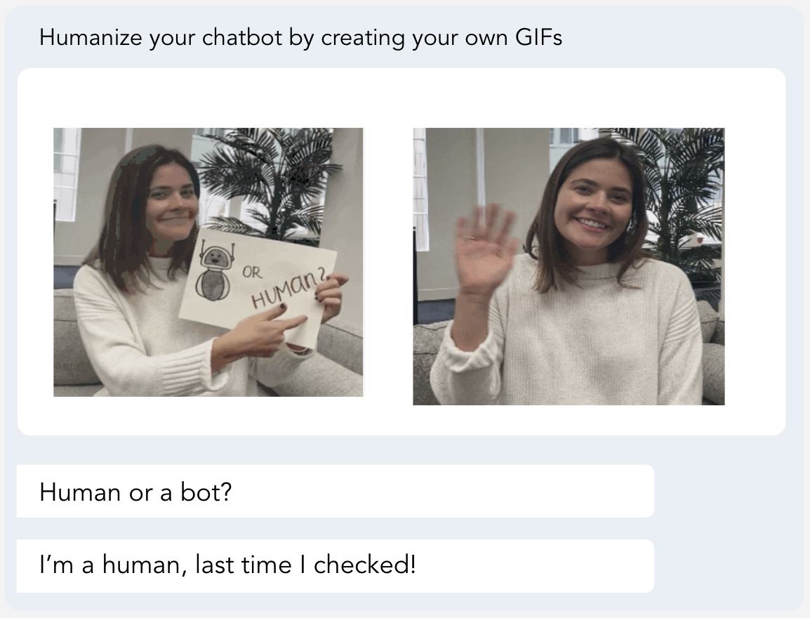 AppExchange Chat: Moving gif example