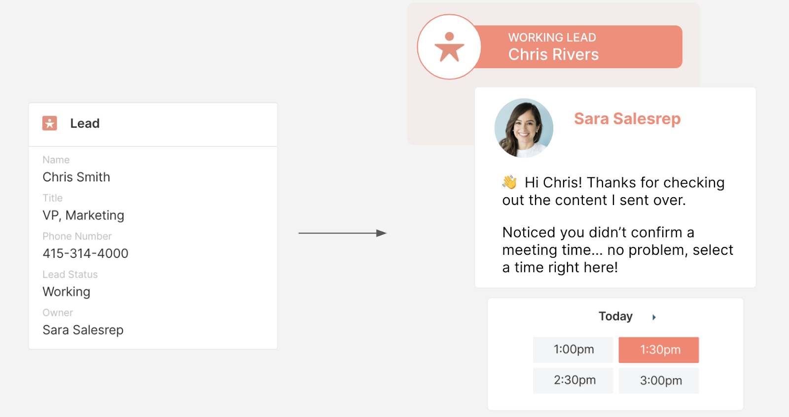 AppExchange Chat: Engaging with Working Leads