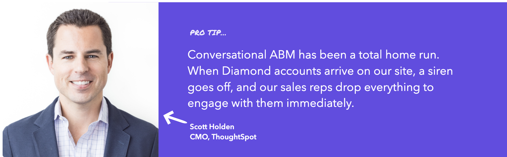 Thoughtspot drives Conversational ABM success with Qualified
