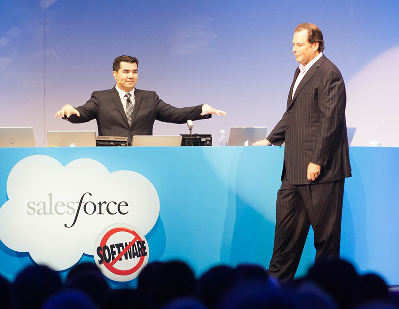 Dan Darcy and Marc Benioff Dreamforce Keynote - Dan Darcy Joins Qualified.com as Chief Customer Officer