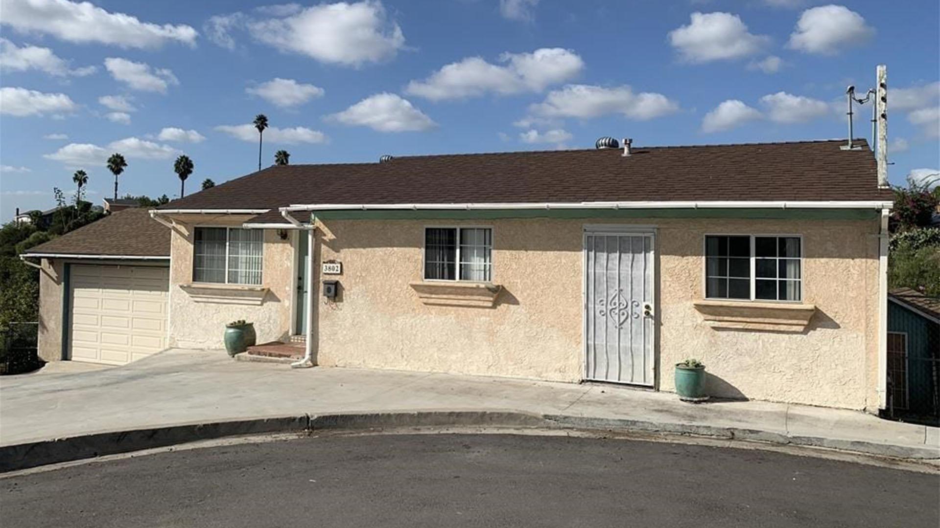 3802 49th St. San Diego, CA 92105