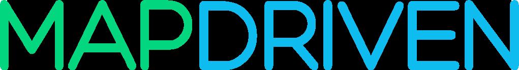 Map Driven Logo