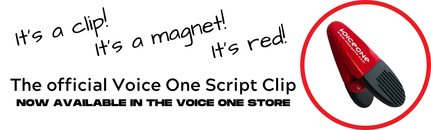 Buy Voice One Script Clips in the Voice One store!
