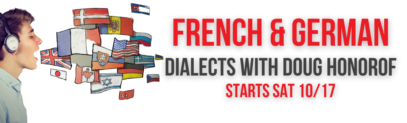 FRENCH AND GERMAN DIALECTS