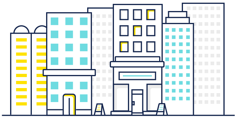 buildings illustration