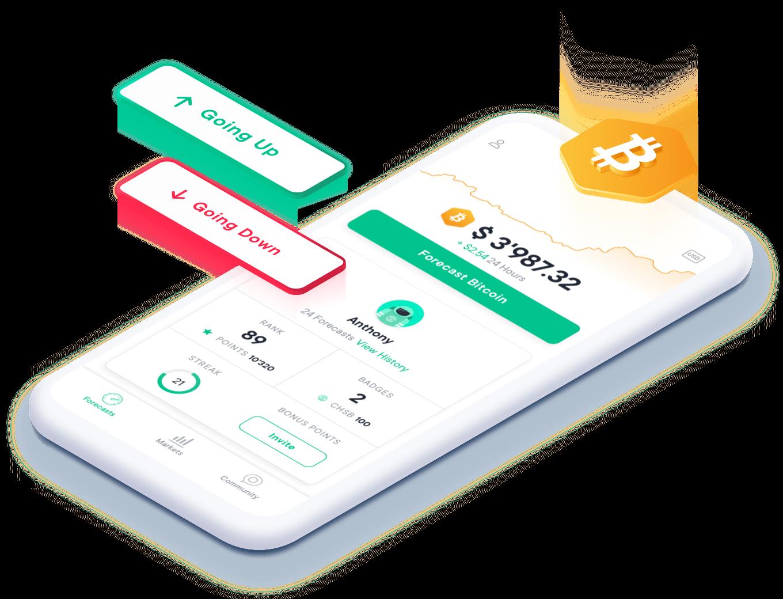 predikt, learn and earn Bitcoin with zero risk