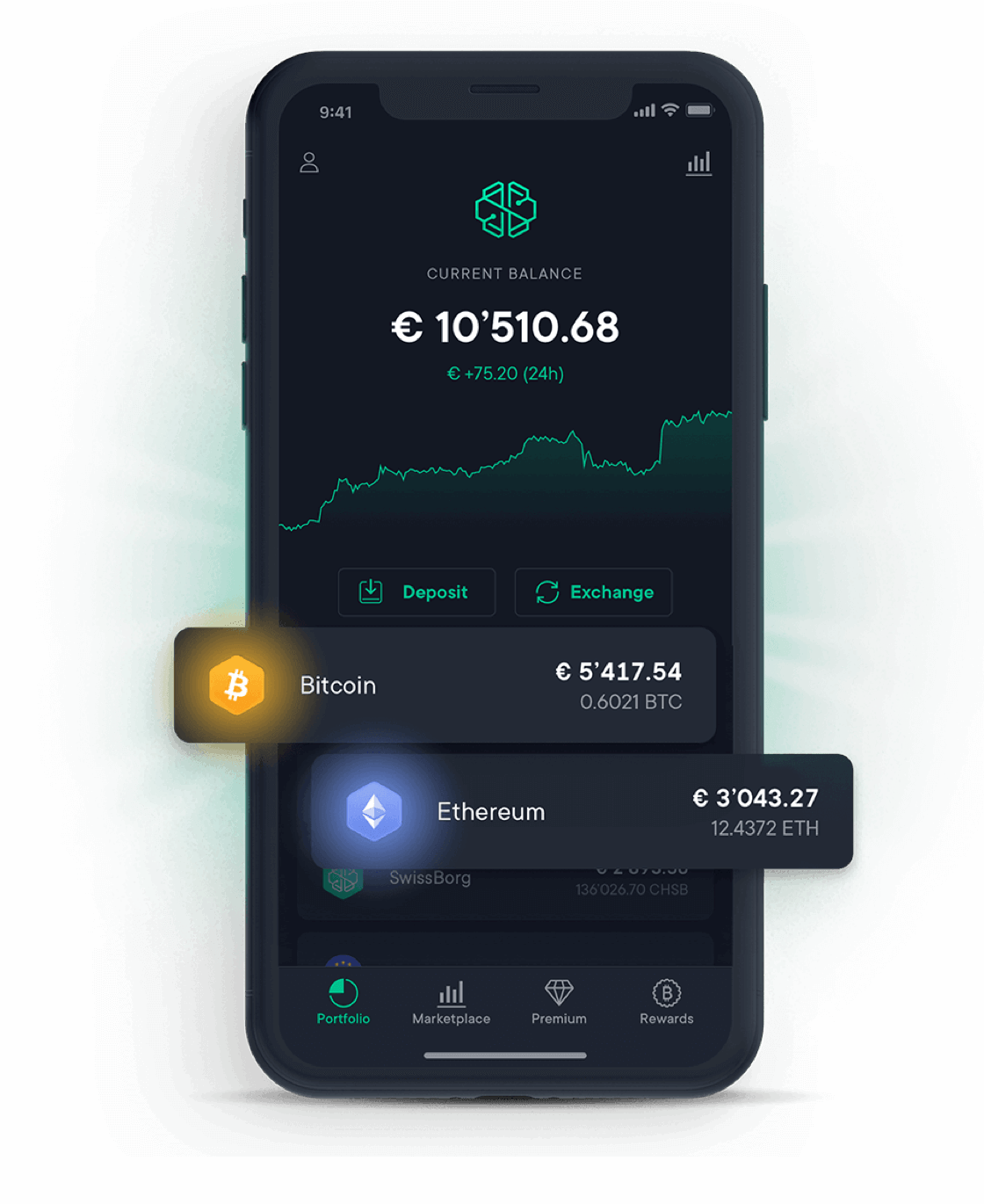 SwissBorg Wealth App