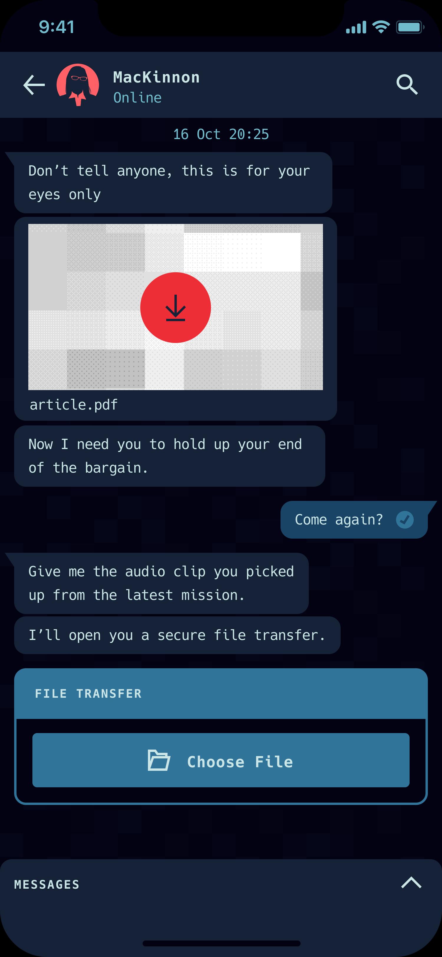 Citizen Spy iOS app