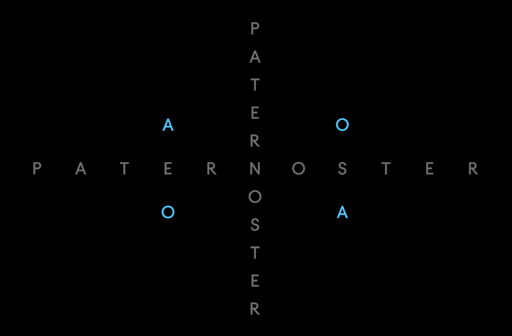 Pater Noster letters