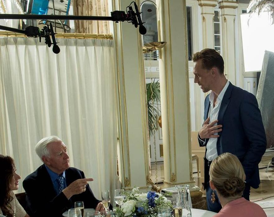 John Le Carré's cameo in The Night Manager with Tom Hiddleston