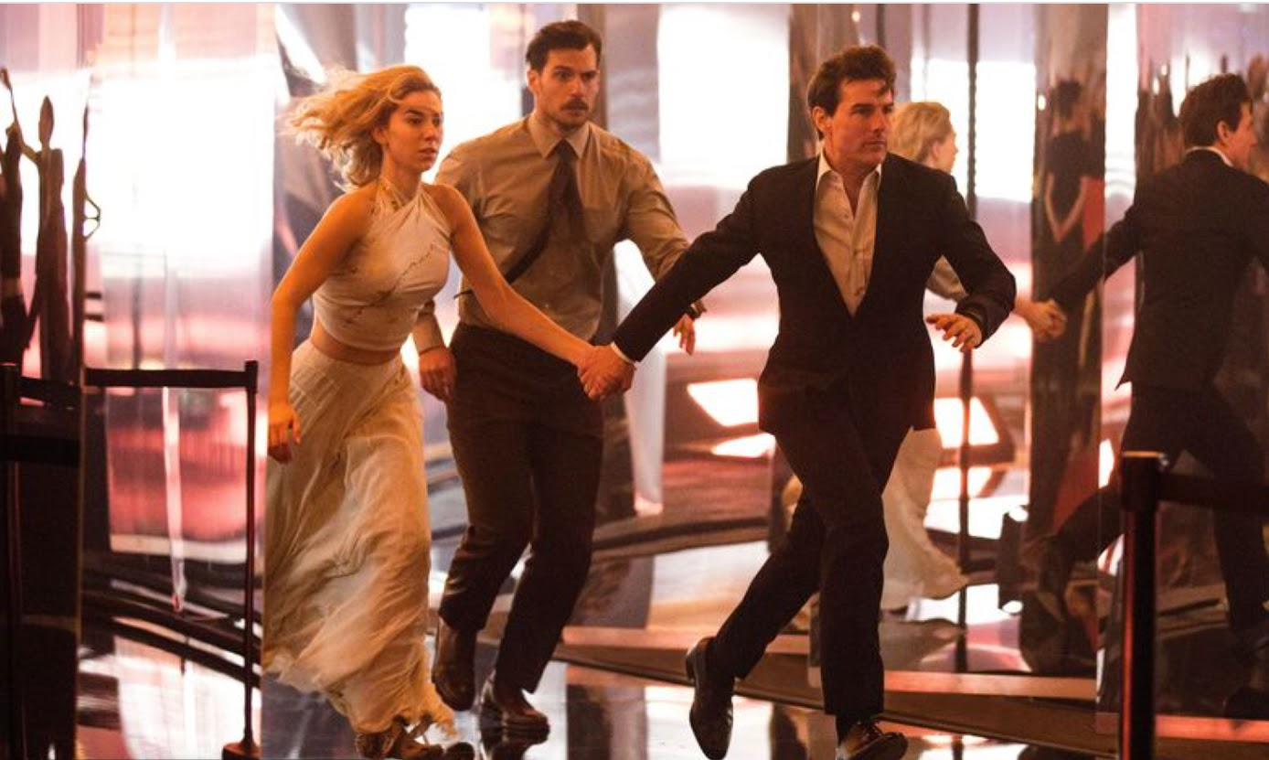 Tom Cruise and Vanessa Kirby star in Mission Impossible