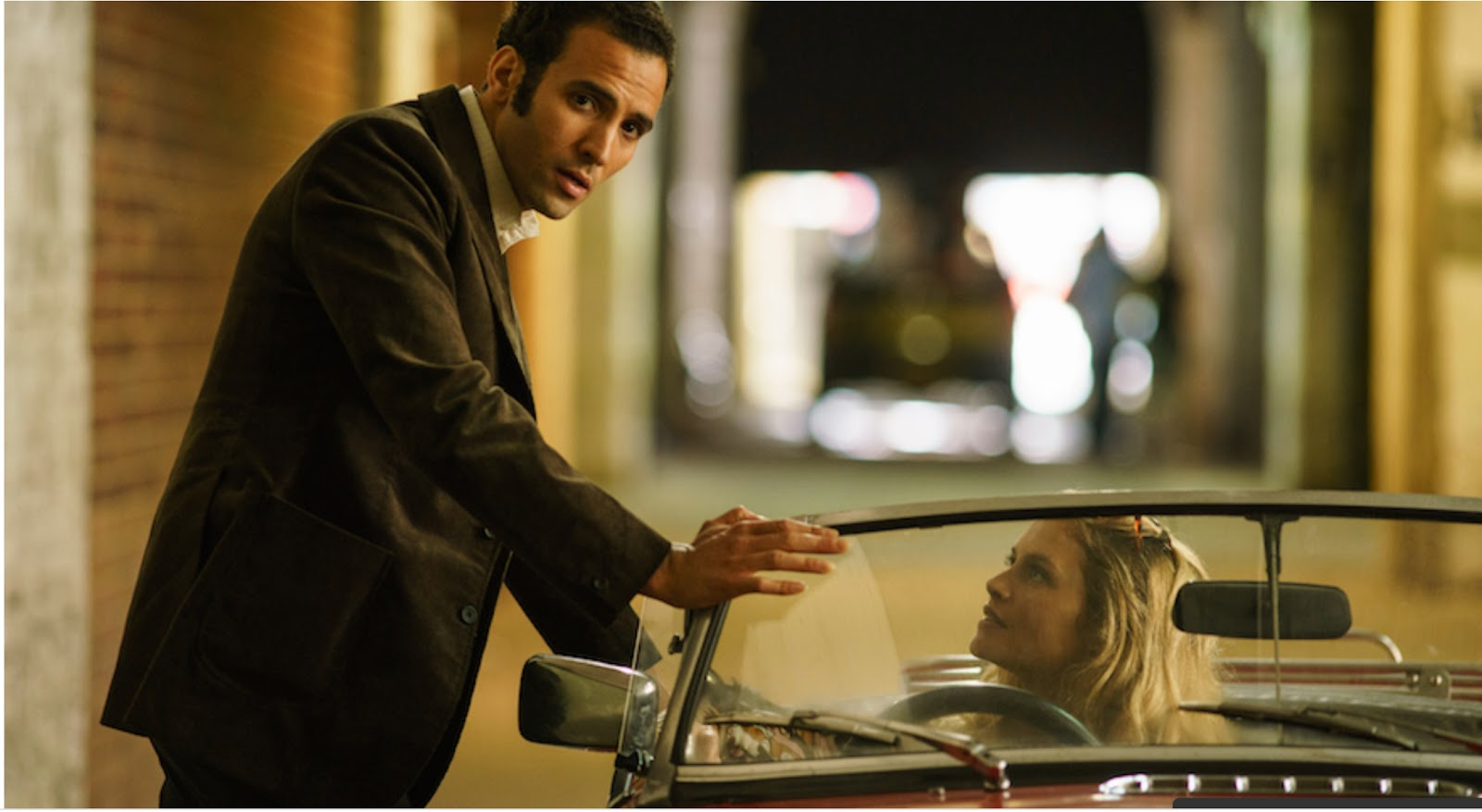Marwan Kenzari star as spy Ashraf Marwan