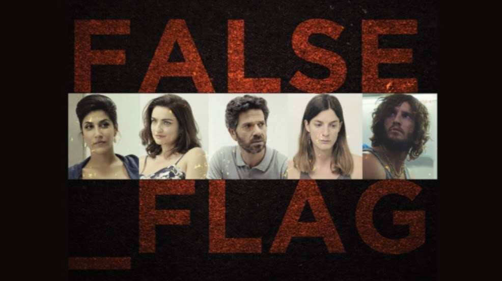 False Flags: Five strangers discover they are wanted for kidnapping