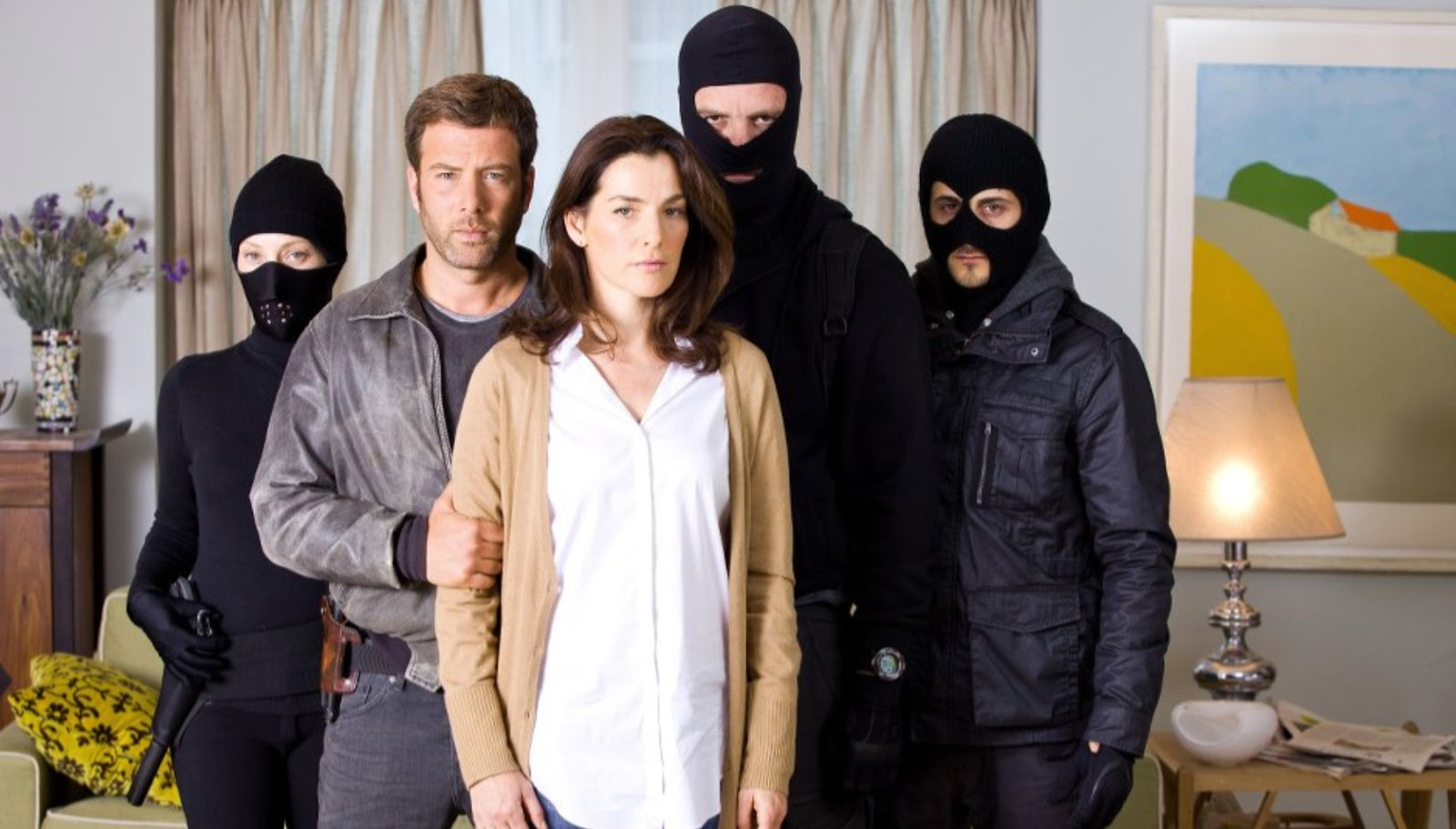 Ayelet Zurer as surgeon Dr Yael Danon in Hostages