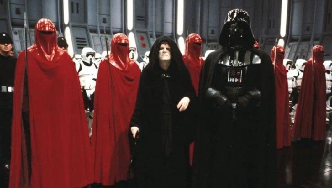 Star Wars set with Darth Vader