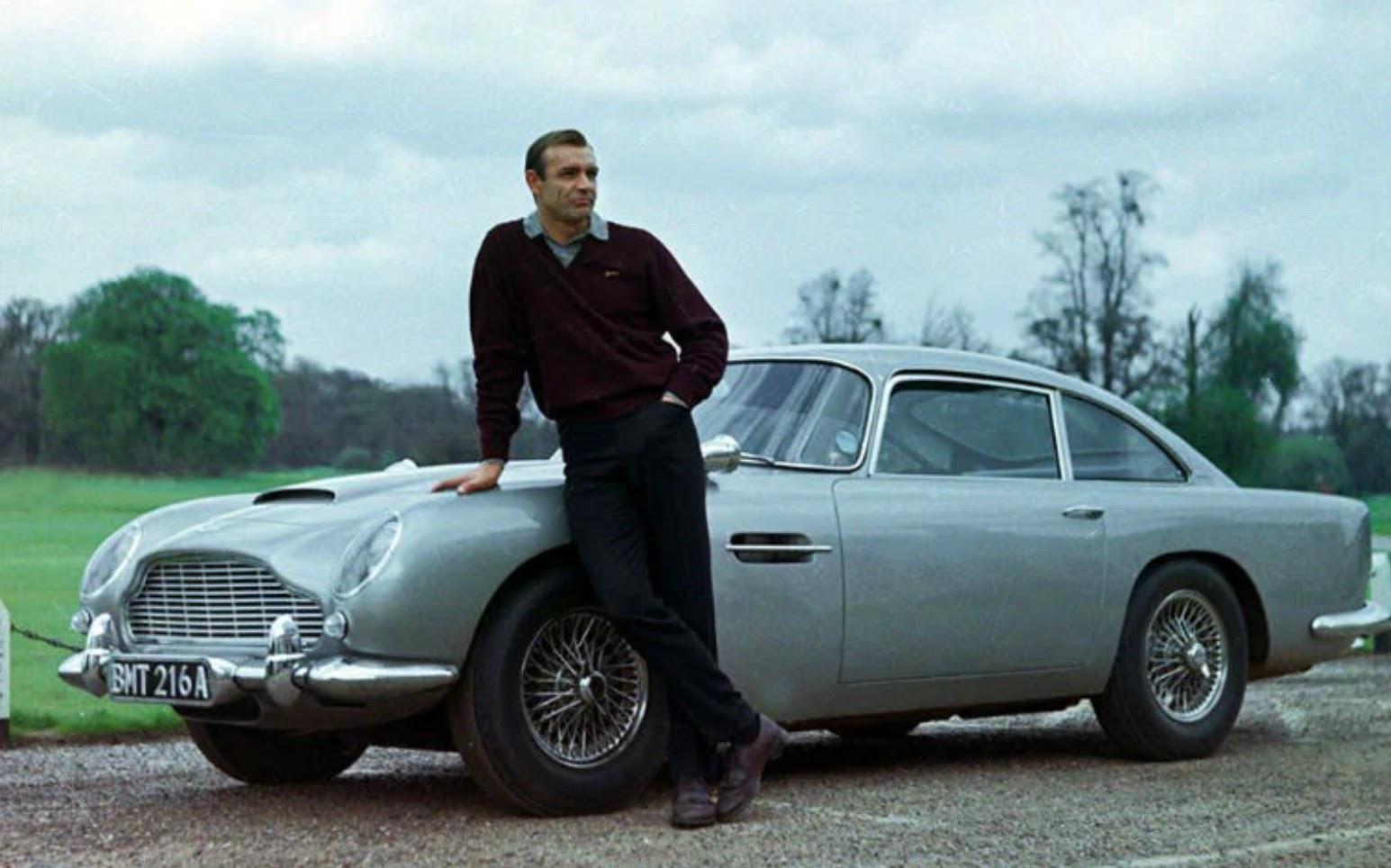Sean Connery, starring as James Bond