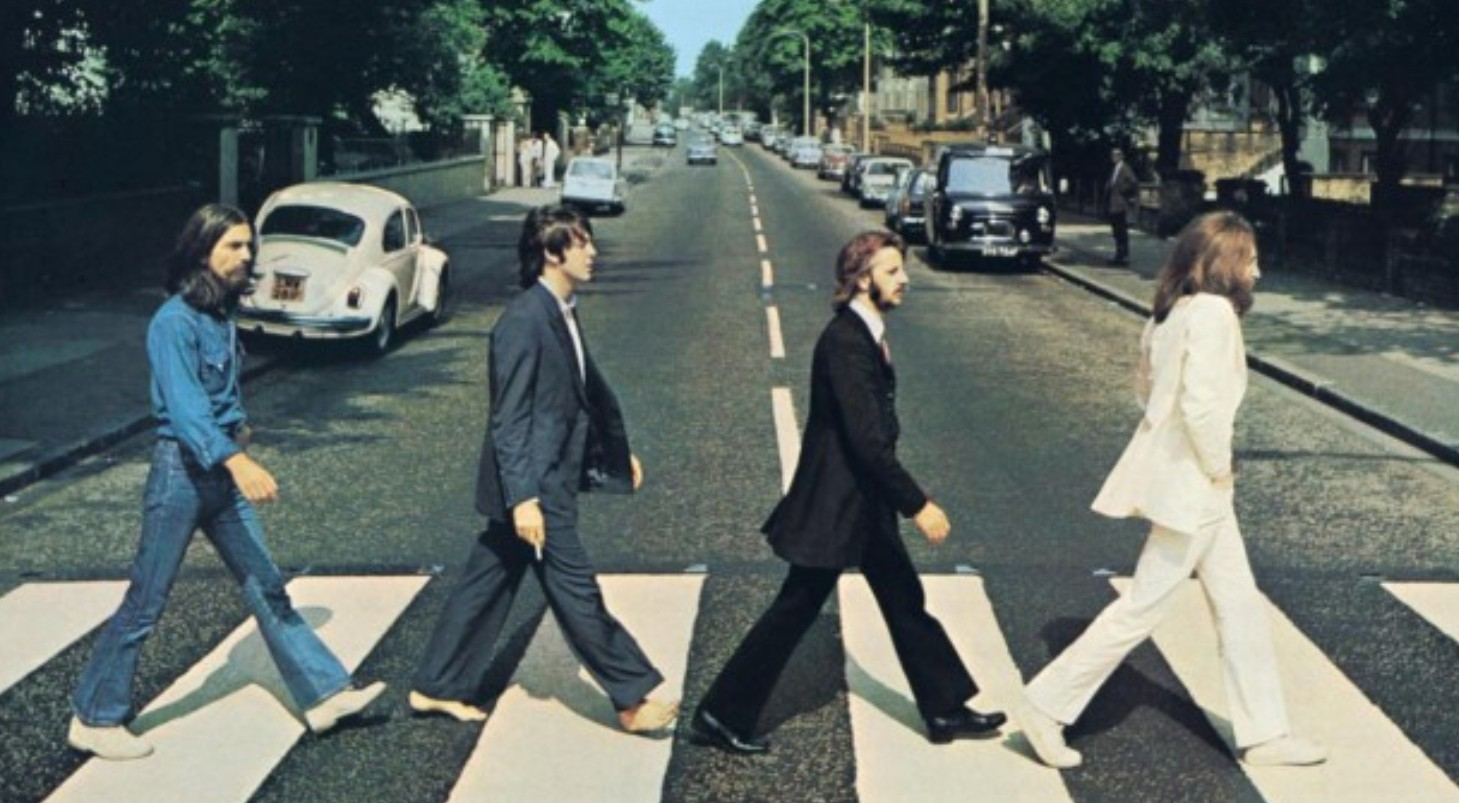 The Beatles Abbey Road Album Cover